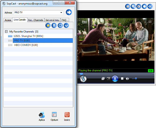 TV Online pe PC